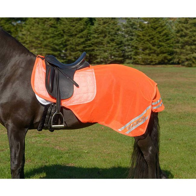 """Shires Equestrian Equi-Flector Mesh Exercise Sheet, 48"""" image number null"""