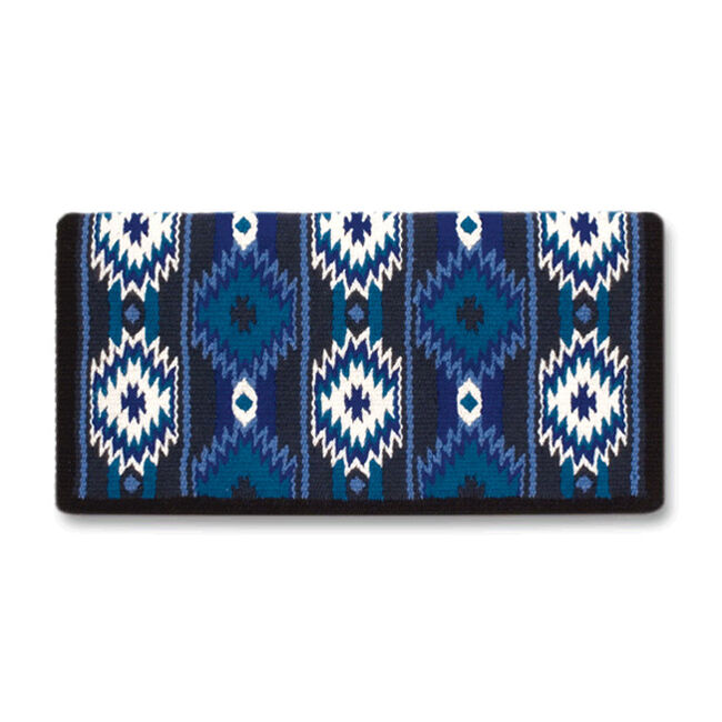 Mayatex 2x2 Saddle Blanket - Royal Blue image number null