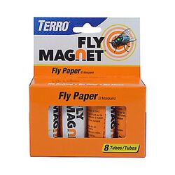TERRO Fly Magnet Sticky Fly Paper Trap – 8pk