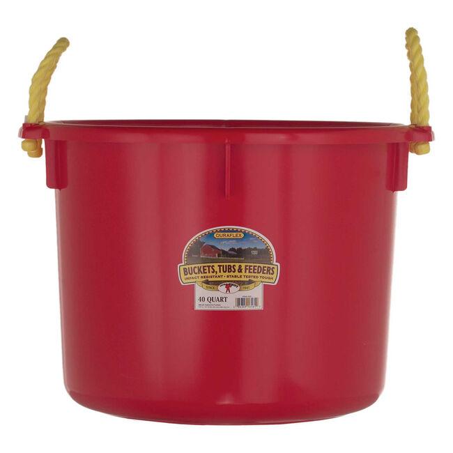 Duraflex 40 Quart Muck Tub - Red image number null