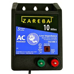 Zareba 10 Mile AC Low Impedance Charger