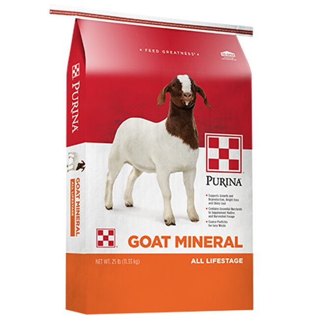 Purina Goat Mineral image number null