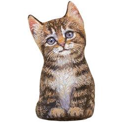 Fiddler's Elbow Brown Tabby Kitten Doorstop