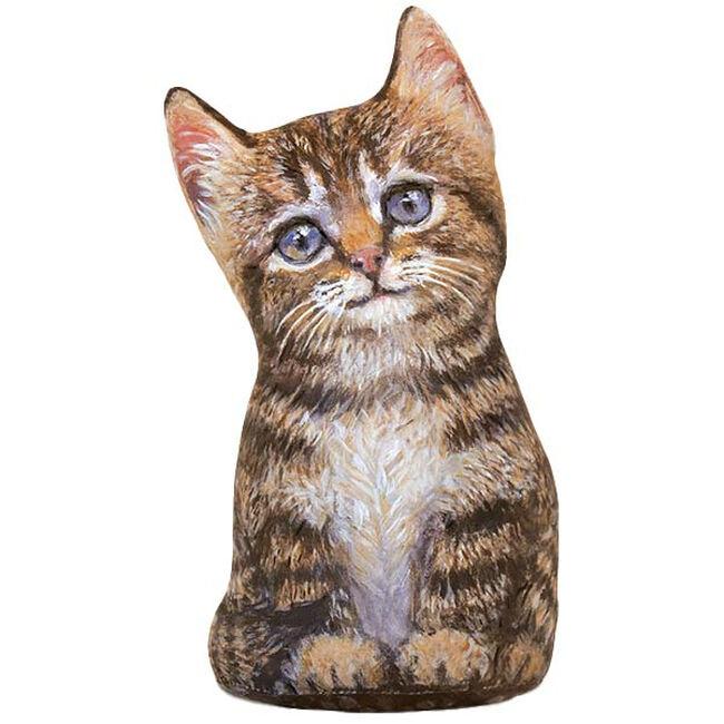 Fiddler's Elbow Brown Tabby Kitten Doorstop image number null