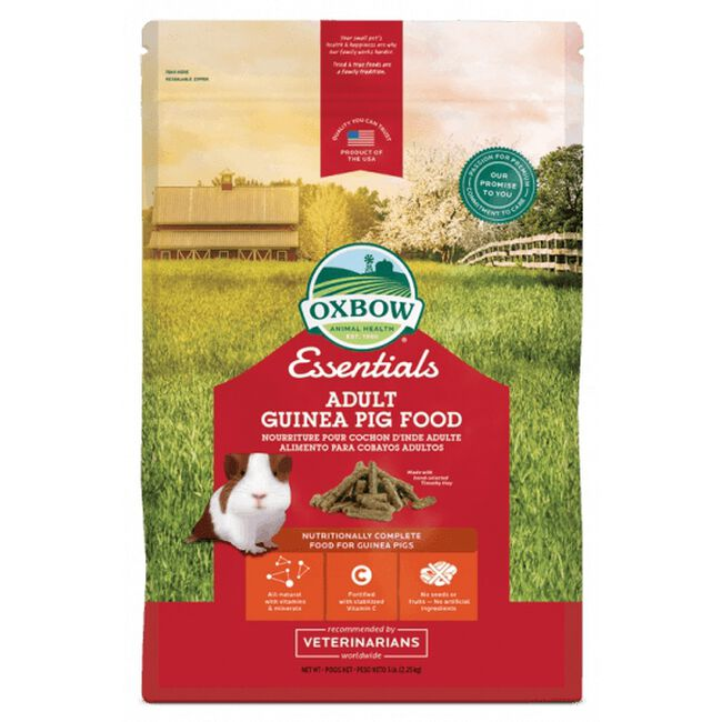 Oxbow's Essentials Adult Guinea Pig Food image number null