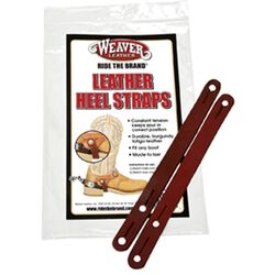Weaver Latigo Leather Heel Straps