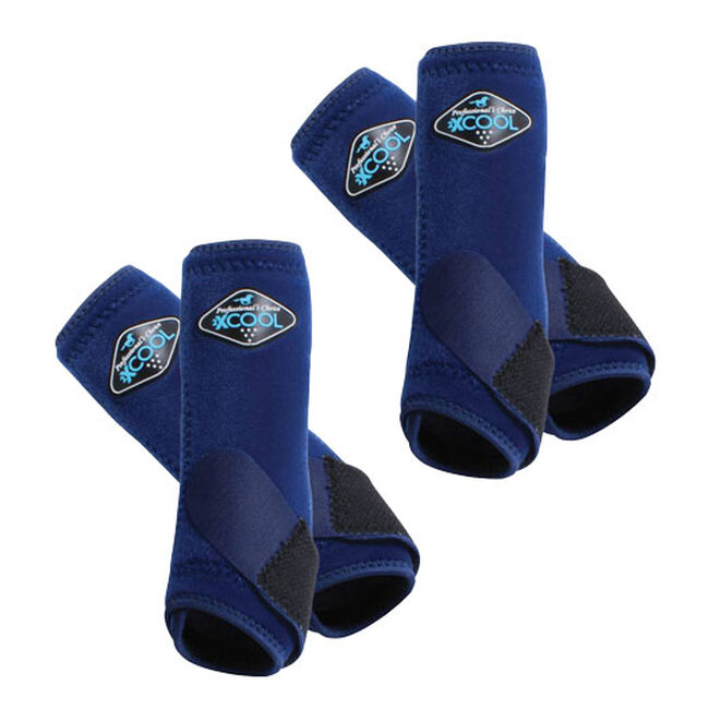 Professional's Choice 2XCool Sports Medicine Boots Value 4 Pack - Navy image number null