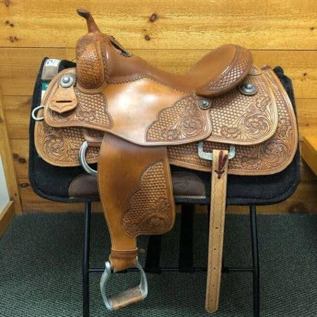 Jim Taylor Arno Honstetter Western Reining Saddle image number null