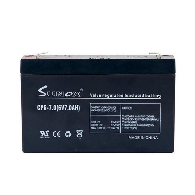 Gallagher 12 Volt 7 AMP Battery image number null