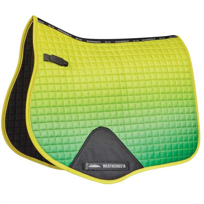 WeatherBeeta Prime Ombre All Purpose Saddle Pad - Sunflower Field image number null