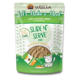 Weruva Let's Make a Meal Pate 2.8 oz Wet Cat Food Pouch