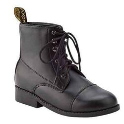 Saxon Kids' Equileather Lace Paddock Boot