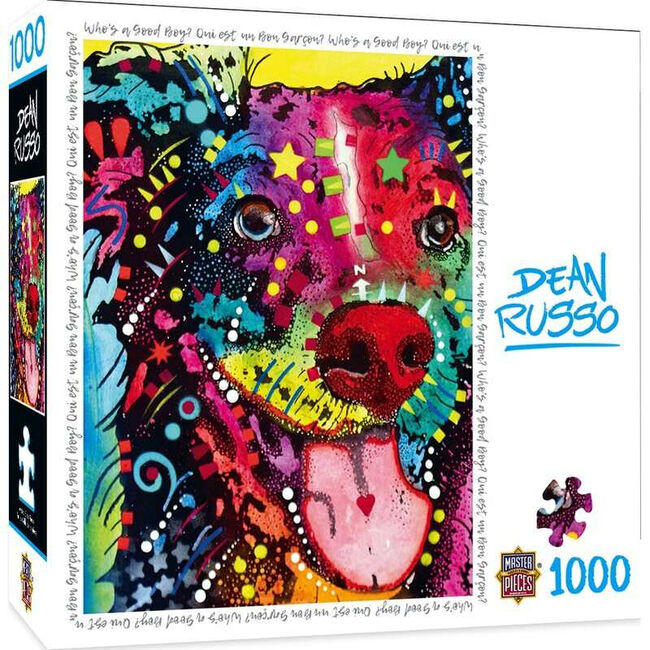 """""""Who's a Good Boy?"""" Dean Russo 1000 Piece Jigsaw Puzzle image number null"""