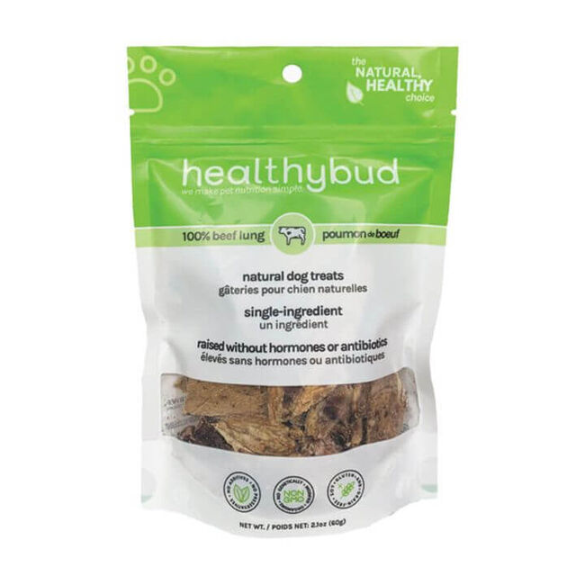 HealthyBud Pure Beef Lung 2.1 oz image number null