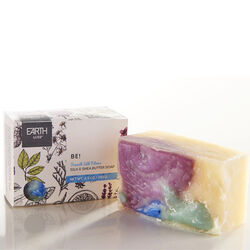Earth Luxe Silk & Shea - Be! Special Edition Nearly Natural Soap