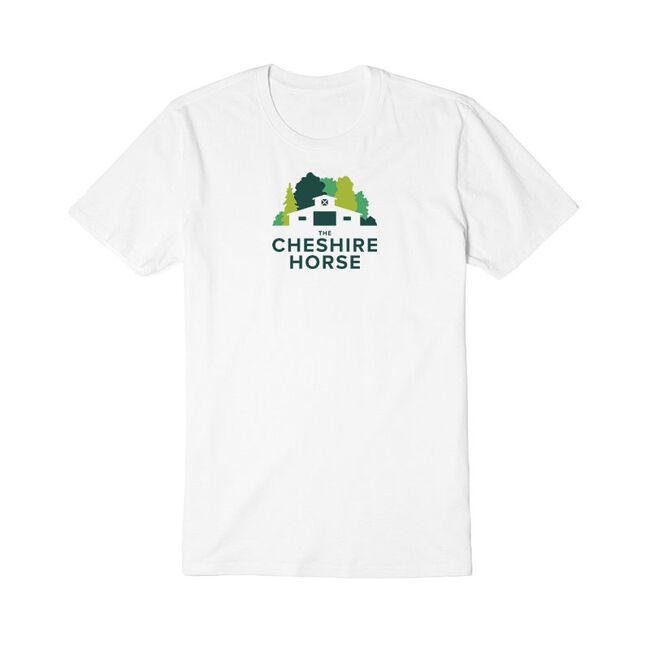 The Cheshire Horse Barn Logo Unisex Tee image number null
