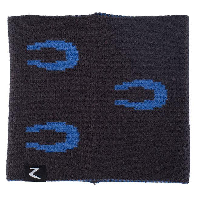 Horze Cornelia Junior Knitted Loop Scarf - Dark Navy image number null