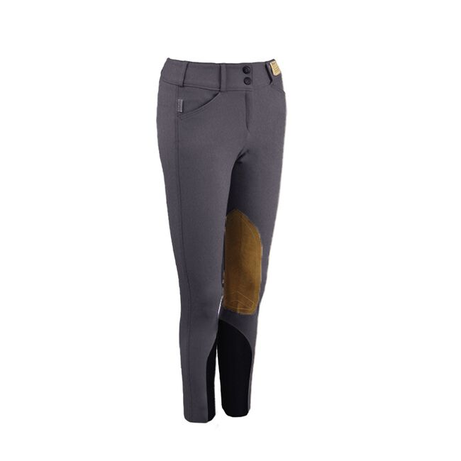 Tailored Sportsman Boot Sock Knee Patch Breeches image number null