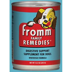 Fromm Family Remedies Digestive Support Supplement for Dogs - Whitefish Formula
