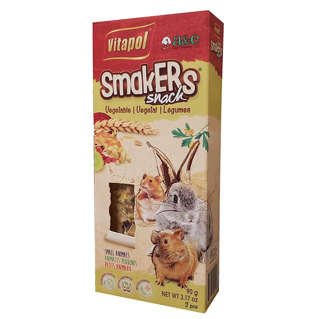 Vitapol Smakers Vegetable Snack for Small Animals image number null