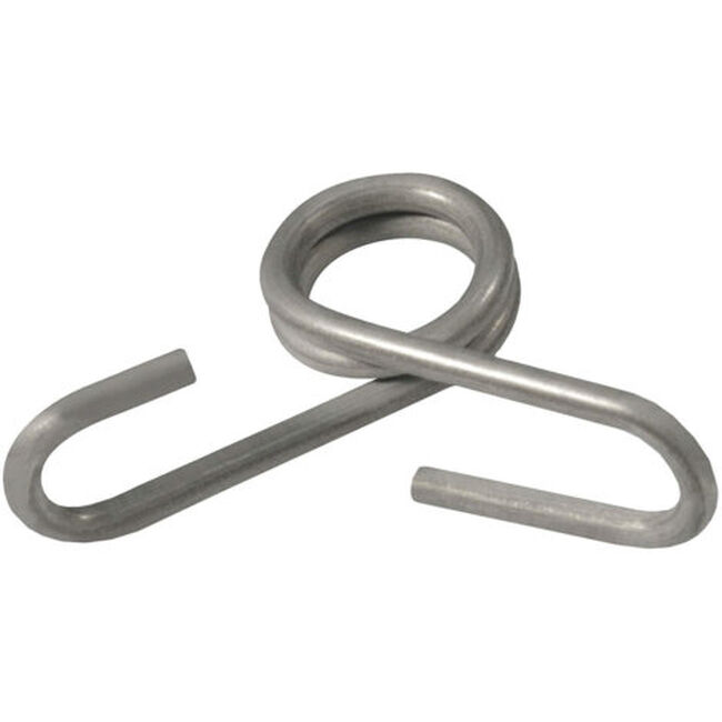 """Geotek Stainless Steel Clips for 3/8"""" Fiberglass Fence Posts - 20 pack image number null"""