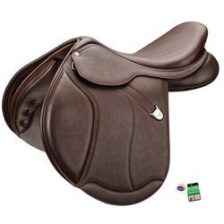 Bates Caprilli Close Contact + Luxe Leather Saddle