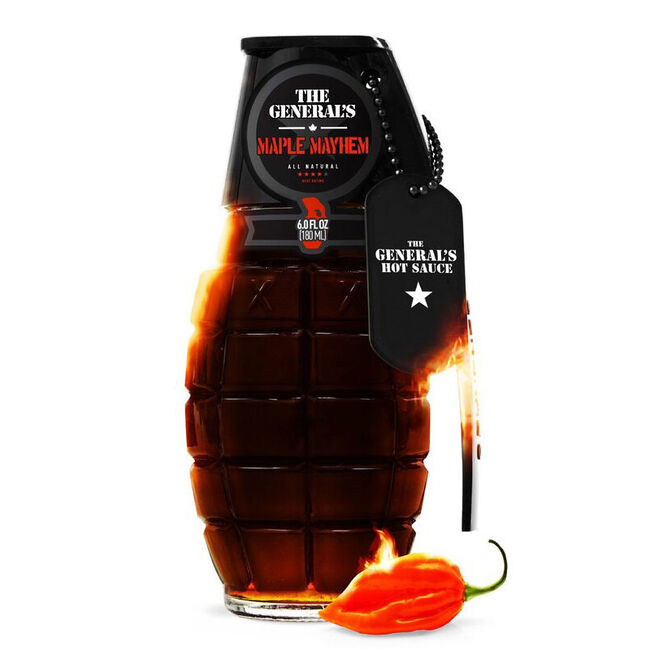 """The General's Hot Sauce - """"Maple Mayhem"""" - 6 oz image number null"""