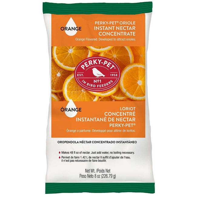 Perky-Pet Instant Oriole Nectar 8 oz Bag image number null
