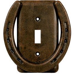 Single Horseshoe Switch Cover