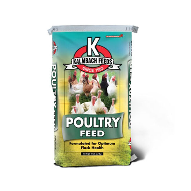 Kalmbach 22% All Natural Broiler/Chick Starter Grower Crumble image number null
