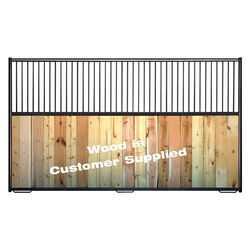 Behlen 12' Horse Stall Panel With Bars