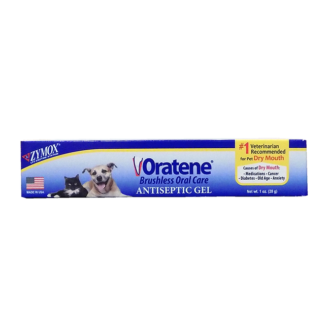 Zymox Oratene Antiseptic Oral Gel For Cats & Dogs image number null