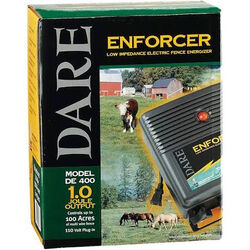 Dare Low Impedance Fence Energizer 1 Joule Output