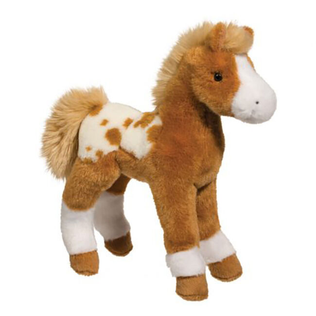 Douglas Freckles Golden Appaloosa Foal Plush Toy image number null