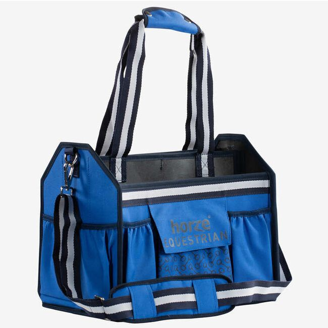 Horze Equestrian Grooming Bag - Mazarine Blue image number null
