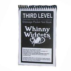 Whinny Widgets Third Level Dressage Test Book
