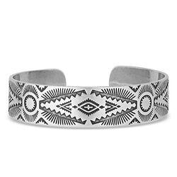 Montana Silversmiths Shimmering Depths Cuff Bracelet
