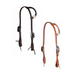 Professional's Choice Turquoise Rawhide One-Ear Headstall