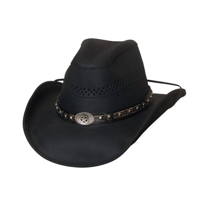 Bullhide Get On Leather Western Hat image number null