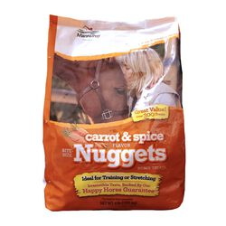 Manna Pro Carrot & Spice Flavor Bite Sized Nuggets Horse Treats