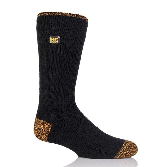 Heat Holders Worxx Men's Socks - Black/Yellow image number null