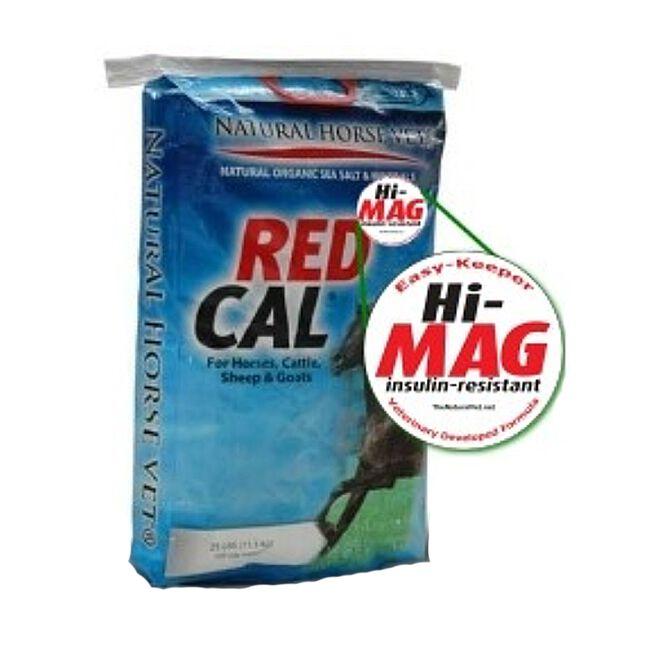 Natural Vet RED CAL Hi-Mag Label image number null