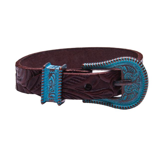Noble Outfitters Buckle Up Bracelet - Antique Brown image number null