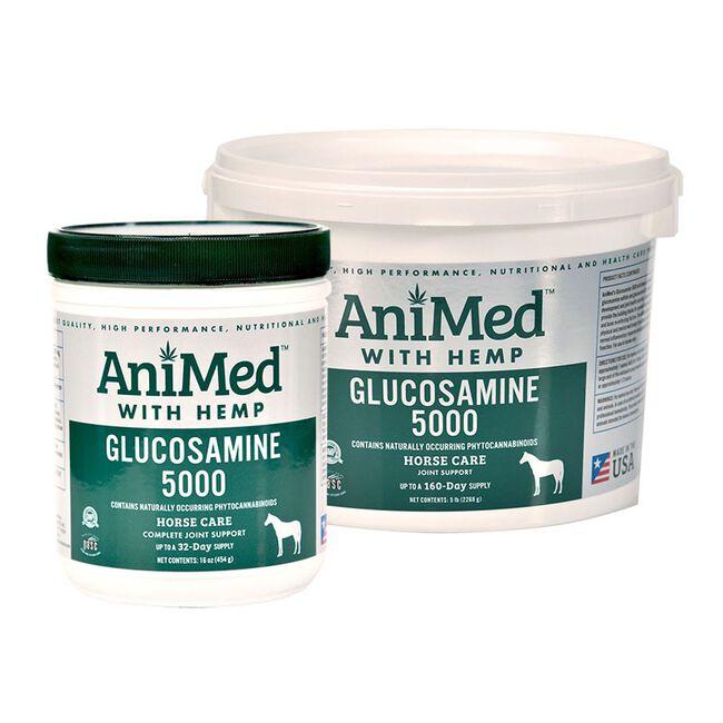 AniMed Glucosamine 5000 with Hemp image number null