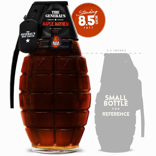 """The General's Hot Sauce - """"Maple Mayhem"""" - 750 mL image number null"""