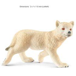 Schleich Arctic Wolf Cub Kids' Toy