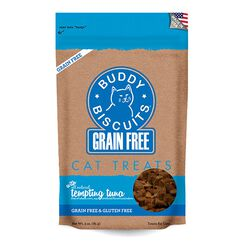 Buddy Biscuits Grain Free Tuna Cat Treats 3oz