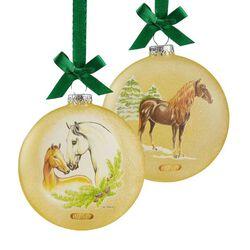 "Breyer 2019 Artist Signature Ornament - ""Spanish Horses"""