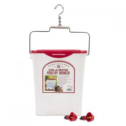 4 Gallon Cup-a-Water Poultry Drinker