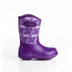 Perfect Storm Cloud High Purple Dogs Kids Boot